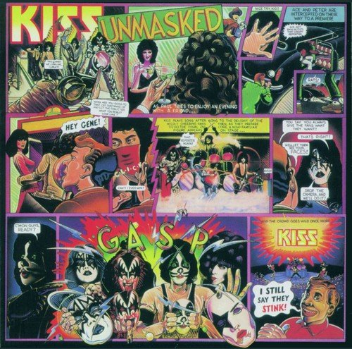 Unmasked (German Version) (Kiss-live-cd)