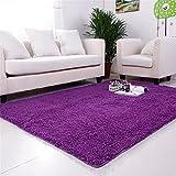 HJHET Die Republik Korea hohe Dichte saugfähigen Chenille Wohnzimmer Couchtisch Teppiche schönes Bett Teppiche 50 * 120 cm