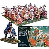 Imperial romano Praetorians (20Plus emperador), 28mm Hail Caesar maquetas miniaturas