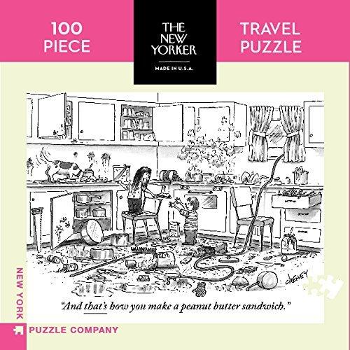 any Peanut Butter Sandwich Mini - 100 Piece Jigsaw Puzzle ()