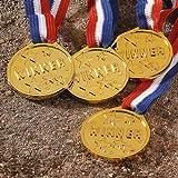 BABY-WALZ Medaillen 4er Set Kindergeburtstag, gold