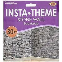 A Beistle Creation Stone Wall Scene Setter