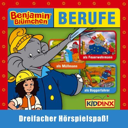 Benjamin Blümchen als Baggerfahrer
