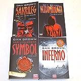 Robert Langdon 1-4 (Sakrileg - Illuminati - Das verlorene Symbol - Inferno) 1,2,3,4 - Dan Brown
