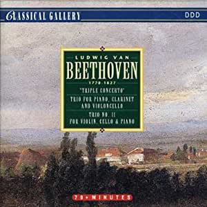 Ludwig Van Beethoven: 'Triple Concerto', Trio For Piano, Clarinet and Violoncello, Trio No. 11 For Violin, Cello & Piano
