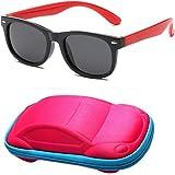 FOURCHEN Gafas de sol para beb/és peque/ños 100/% resistentes a los rayos UV gafas de sol para ni/ños peque/ños para ni/ños de 0 a 3 a/ños