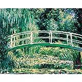 Draeger - Affiche Déco - Poster Artiste Claude Monet pour décorer Votre intérieur - Affiche Colorée en Papier satimat 350 g - 24 x 30 cm