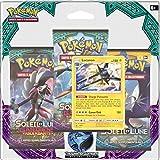 Asmodée - 3PACK01SL02 - 3 Boosters - Pokémon Soleil et Lune 2