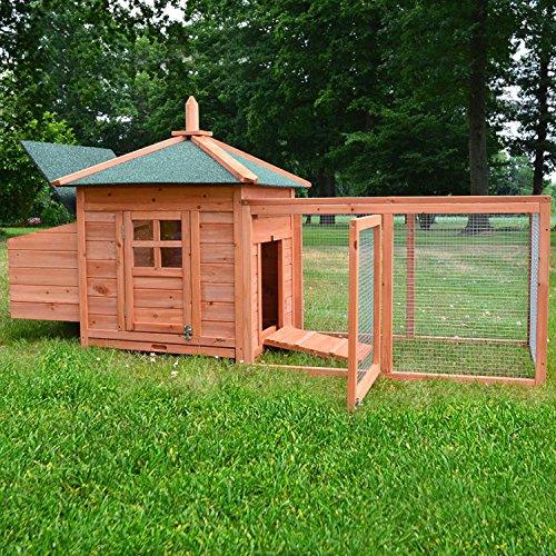 Zooprimus Hühnerstall 39 Geflügelhaus – OREO – Stall für Außenbereich (für Kleintiere: Hühner, Geflügel, Vögel, Enten usw.) - 3