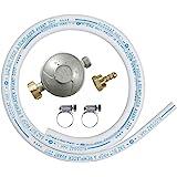 Ribitech - dg170tc75/b - Kit tube souple butane avec 1 détenteur, 1 tétine et 1 tube souple 1m50