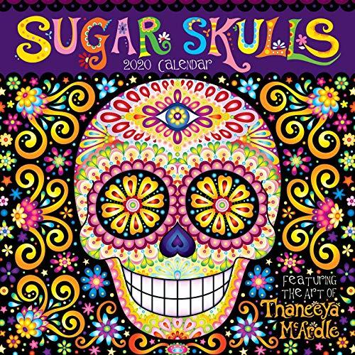 Sugar Skulls 2020 Square Wall Calendar