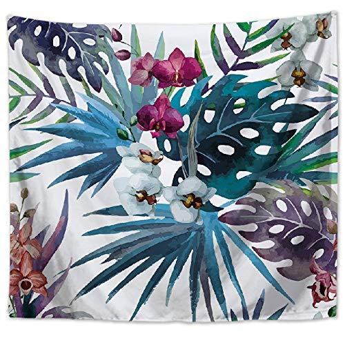 Estera de Yoga Mantel tapicería Flores Frescas Pared Colgando Toalla Toalla de Playa GT1023-1 75 * 90