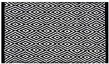 Pro Home Teppich Läufer Matte Unterlage Vorleger Fußabtreter, breite Auswahl an modernen Fleckerl- und Baumwollteppiche (70x130 cm/Diamond)