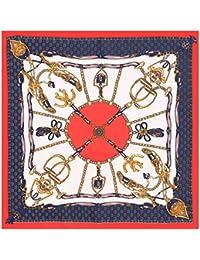 4ddb143fd95 Amazon.fr   carre hermes - Foulards   Echarpes et foulards   Vêtements