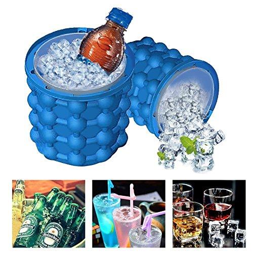 FITMATE Ice Genie Cube maker-the Revolutionäre platzsparend Ice Genie Kitchen Tools & Eis Tubs Getränkehalter Flaschen