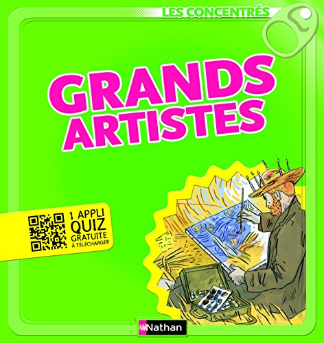 Grands artistes - Les Concentrés par Caroline Larroche
