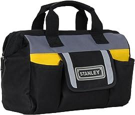 Stanley STST70574 Fibre 12-Inch Soft Sided Tool Bag (Black)