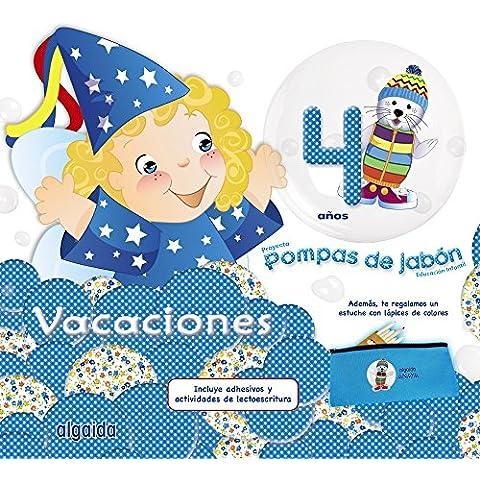 Pompas de jabón 4. Cuaderno de vacaciones