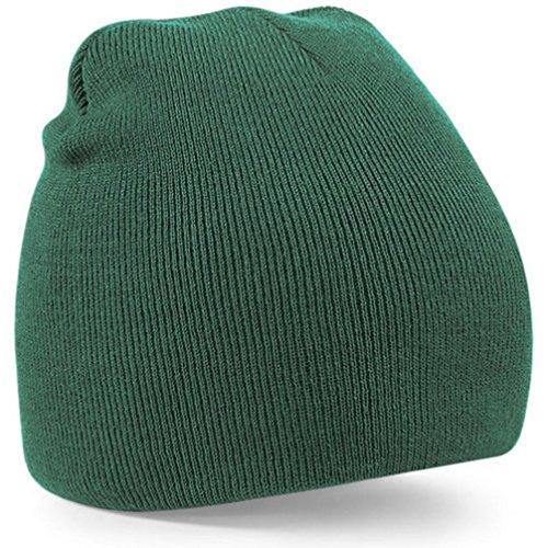 Gorro de invierno, RETUROM Nuevo hombres de las señoras unisex invierno lanoso esquí caliente cráneo Gorra tejida gorro (verde)