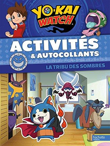 Yo-Kai Watch - Activités et autocollants-Sombres