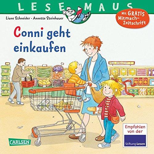 Preisvergleich Produktbild LESEMAUS 82: Conni geht einkaufen