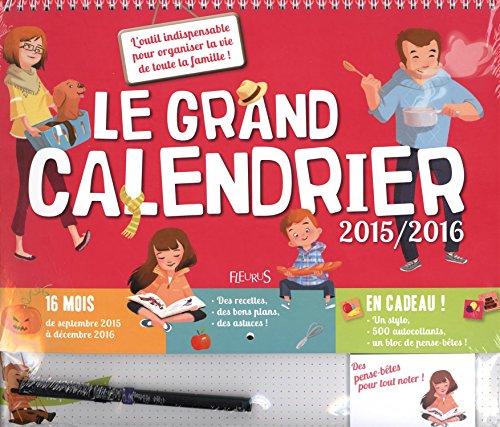 Le grand calendrier 2015/2016