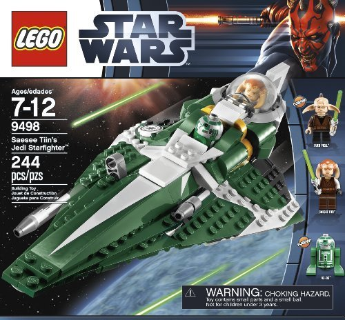 LEGO Star Wars 9498 Saesee Tiin's Jedi Starfighter by LEGO TOY (English Manual)
