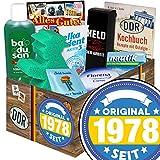 Original seit 1978 | Ostprodukte | mit Badusan, Held der Arbeit Duschbad, Ampelmann Badeschwamm und mehr | GRATIS Aufkleber - Original seit 1978