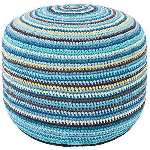 Crochet Pouf Kinder Sitzsack Large Multi Boy