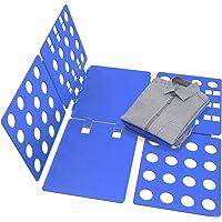METALBAY Planche à Plier, Planche à Plier Linge, Planche de Pliage en Plastique, Plieur pour Vêtement T-Shirt Pantalon…