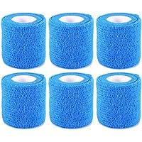 6 Rollen Selbsthaftende Bandage Elastisch Sportbandage Blau 5 cm, 4,6 m von ZJchao preisvergleich bei billige-tabletten.eu
