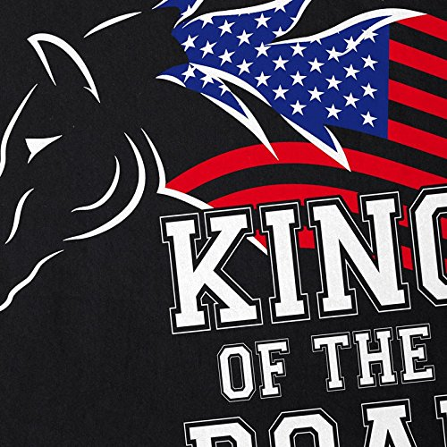 style3 King of the Road Damen T-Shirt Amerika America Muscle Car Schwarz