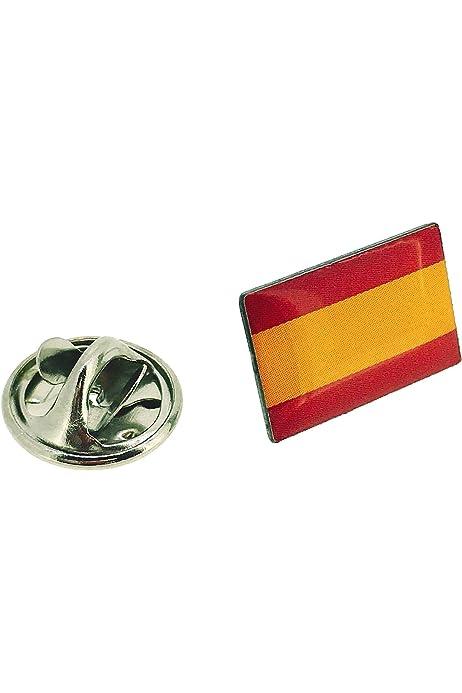 Desconocido Pin de Solapa Bandera España Española Metal con Esmalte Tamaño Pequeño: Amazon.es: Joyería
