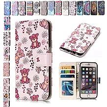 Custodia iPhone 5C Cover iPhone 5C Portafoglio Diamante SainCat