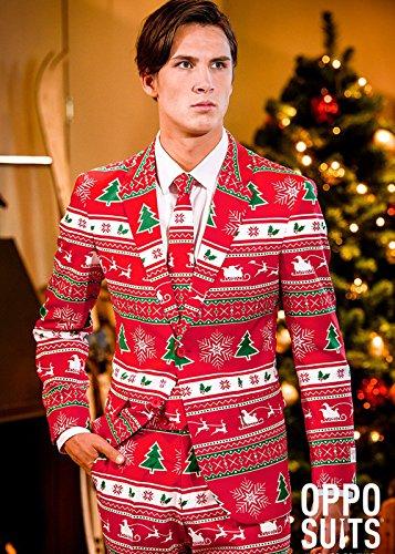Mens Weihnachten Winter Wonderland Oppo Anzug Large (EU54 (Winter Kostüme Wunderland)