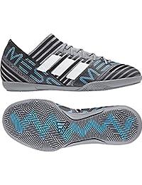 Adidas NEMEZIZ MESSI TANGO 17.3 IN J - Zapatillas de fútbol sala, Unisex Infantil, Gris(GRIS/FTWBLA/NEGBAS)