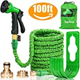 Best Garden Hoses - Suplong Expandable Garden Water Hose Pipe- 8-Pattern Spray Review