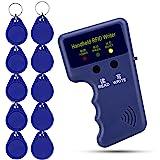 OBO HANDS 125khz RFID - Lezer blokkeren schrijver kopieerapparaat duplicater + 10 stuks beschrijfbare T5577 sleutelkaarten