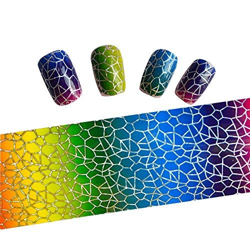 Vernis à ongles de transfert en aluminium