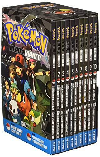 Pokemon nero e bianco. Box 1 vol. 1-10