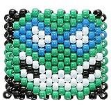 "Bracelet Kandi ""Tête Leonardo Tortues Ninjas"", bracelet kandi, bracelet à perles, bracelet perlé, pour Halloween festivals de musique et rave parties"