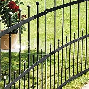 Gartenzaun element flex bellissa 114x97cm garten - Flexibler gartenzaun ...