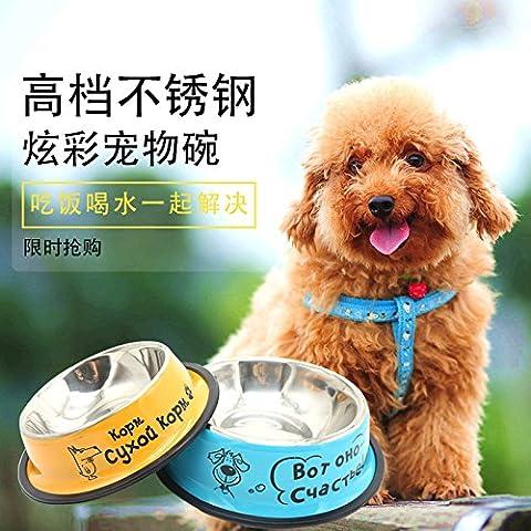 Cane ciotole di riso Daikin lordo bacino del cane ciotole