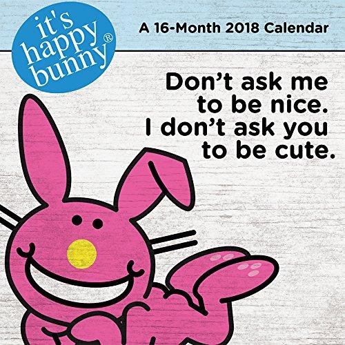 It's Happy Bunny 2018 Calendar Corp Bunny