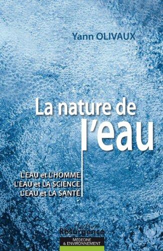 La nature de l'eau