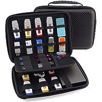 FunYoung USB-Speicherstick Organizer Aufbewahrungs Tasche Case Organizer für USB Sticks SD Speicherkarte Hülle Zubehöre…