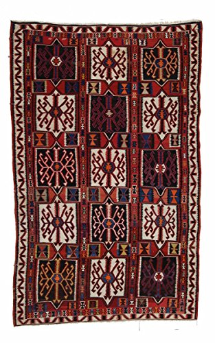 Nain Trading Kelim Soumak 323x201 Orientteppich Teppich Rost/Rosa Handgeknüpft Russland -