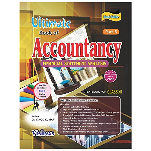 Ultimate book of accountancy(Part-B) class12