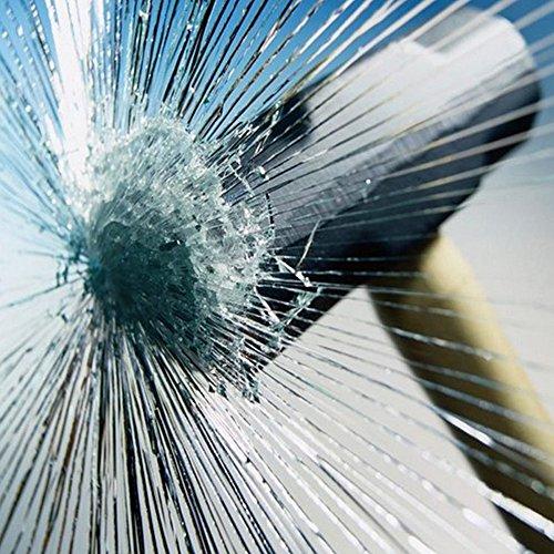 [Hoho] 4mil Clear Safety Window film tinta solare di sicurezza di sicurezza finestra film protettivo in vetro anti Shatter mobili, 0.5*3m