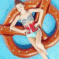 SmartLife bretzel piscine flotteurs Air Matelas gonflable Cercle Bague